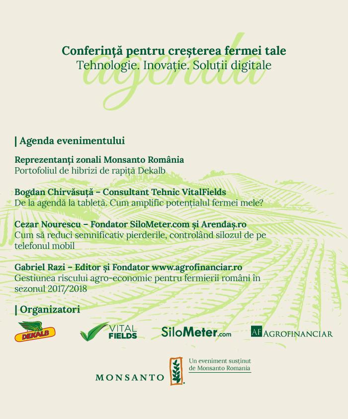 Agenda_Conferinta pentru cresterea fermei tale